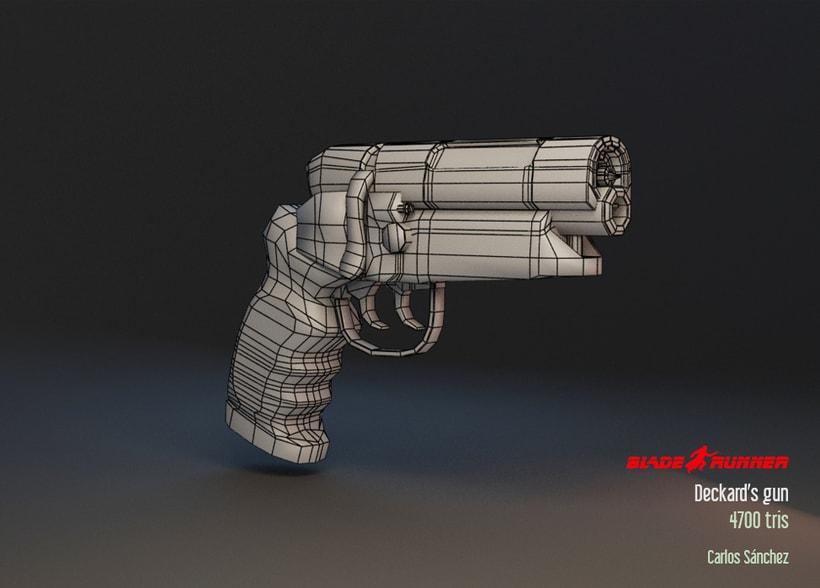 Blade Runner - Deckard's gun 3