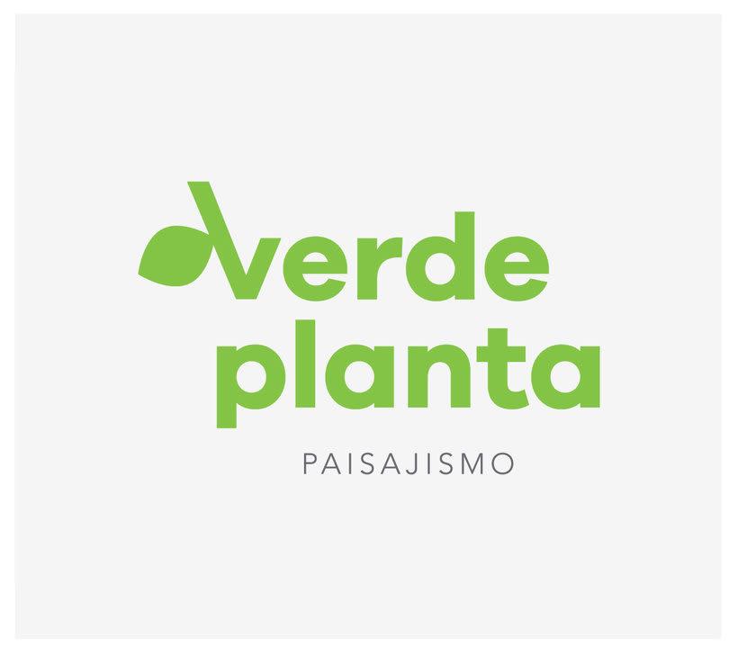 Verde Planta identidad 0