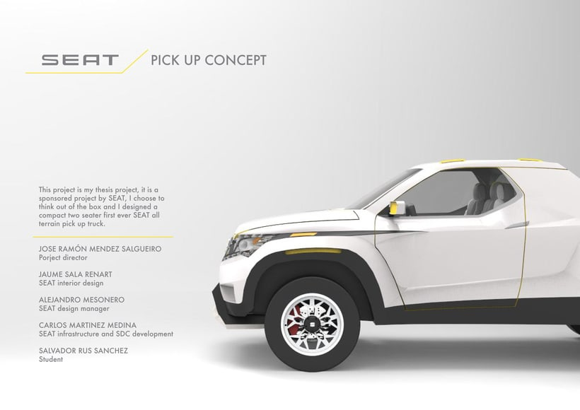 SEAT Pick up Concept Tesis Proyect  0