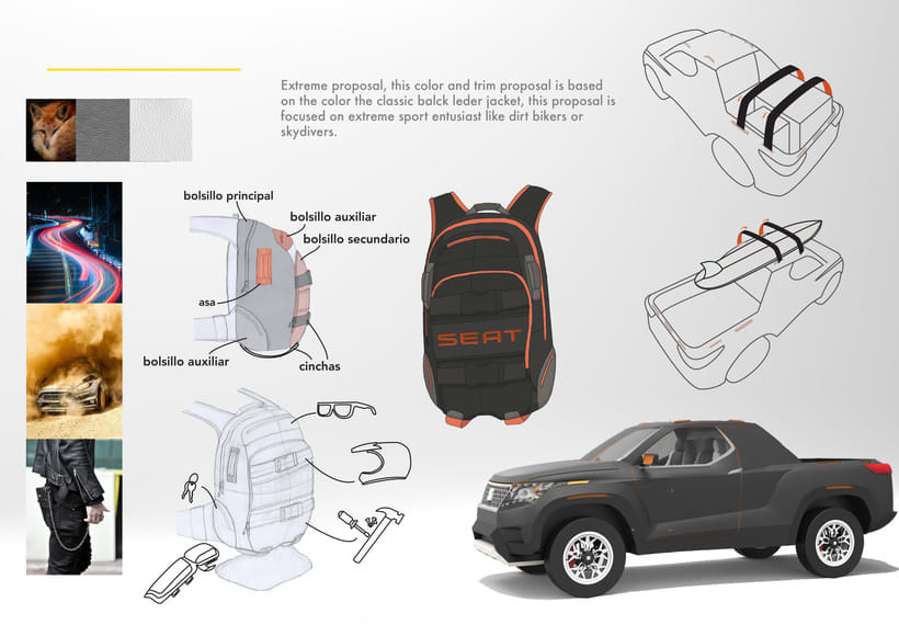 SEAT Pick up Concept Tesis Proyect  6