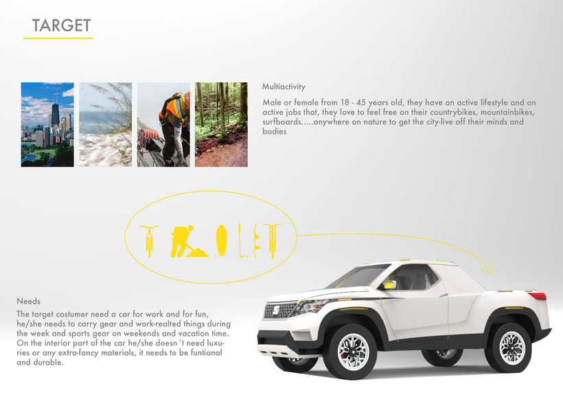 SEAT Pick up Concept Tesis Proyect  4