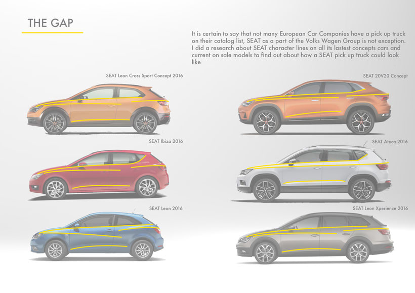 SEAT Pick up Concept Tesis Proyect  1