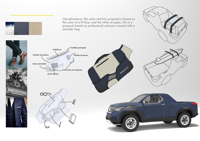SEAT Pick up Concept Tesis Proyect  7