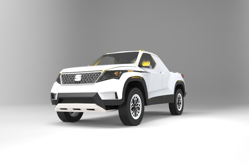 SEAT Pick up Concept Tesis Proyect  9