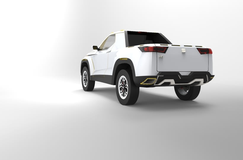 SEAT Pick up Concept Tesis Proyect  10