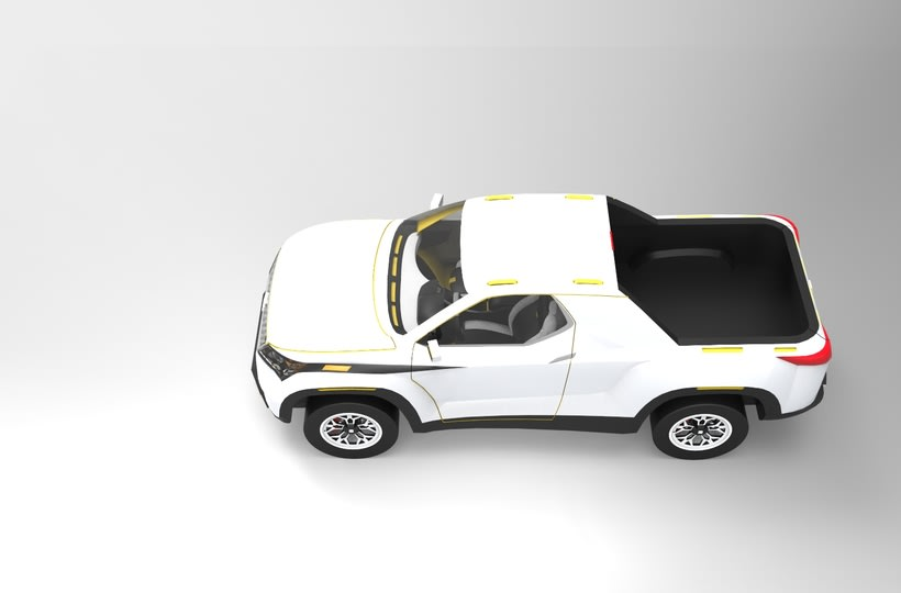 SEAT Pick up Concept Tesis Proyect  11