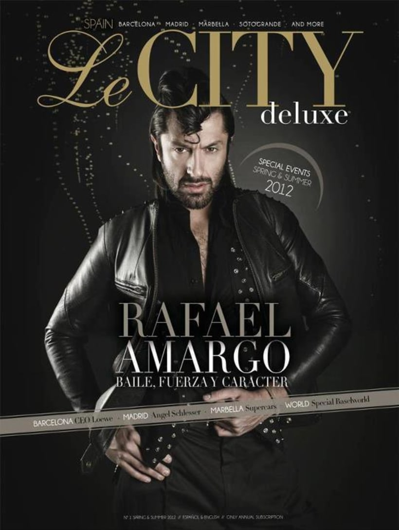 Rafael Amargo para Le City Deluxe 10