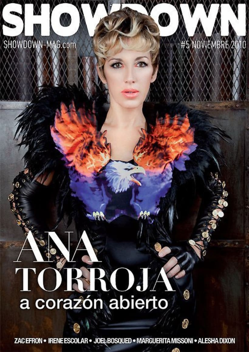 Ana Torroja para Showdown magazine  7