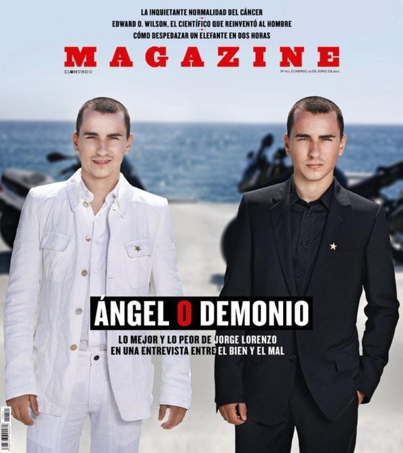 Jorge Lorenzo para Magazine  5