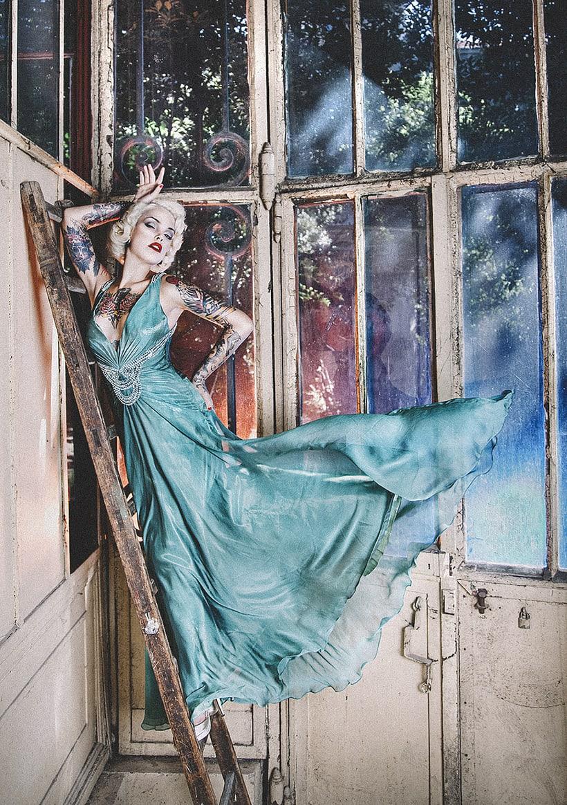 Vinila Von Bismark para Babylon Magazine  0