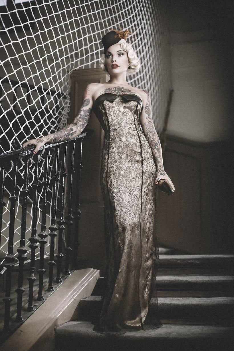 Vinila Von Bismark para Babylon Magazine  4