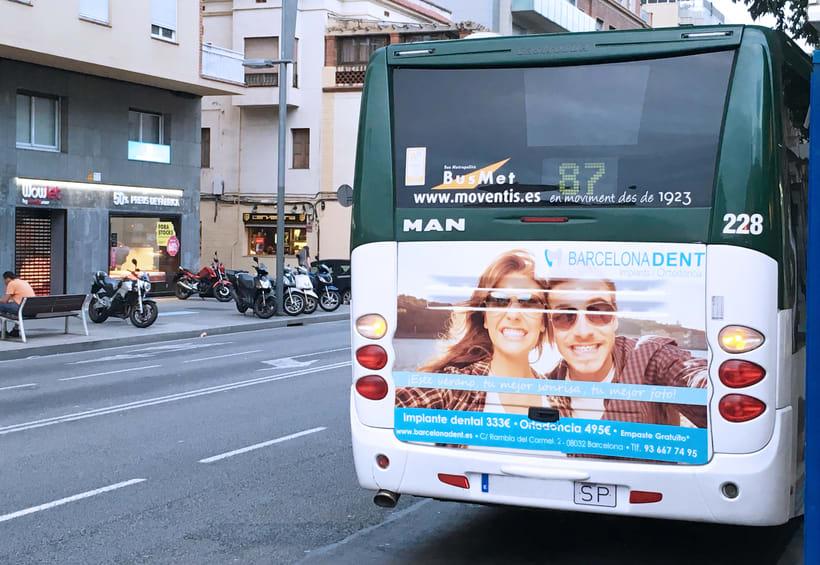 Publicidad Buses Barcelonadent 0