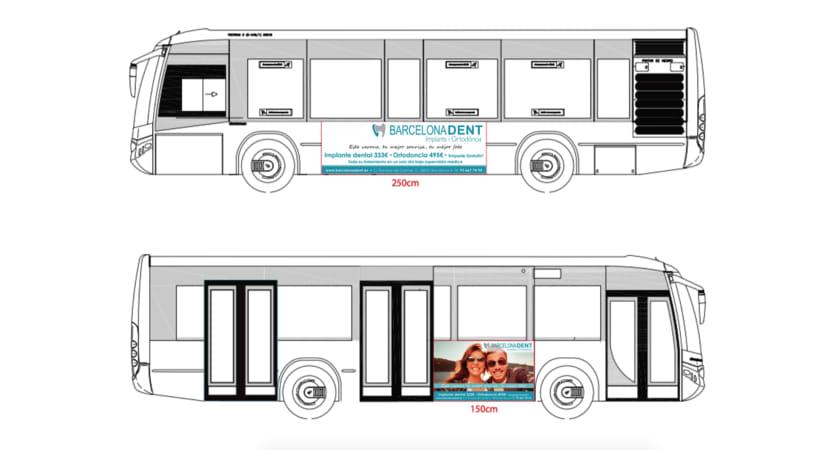 Publicidad Buses Barcelonadent 2