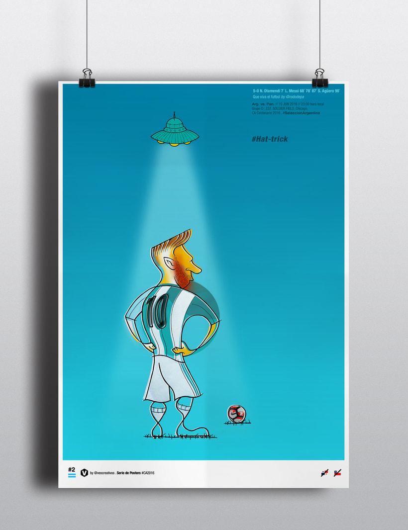 Serie de Posters Copa América 2016 1