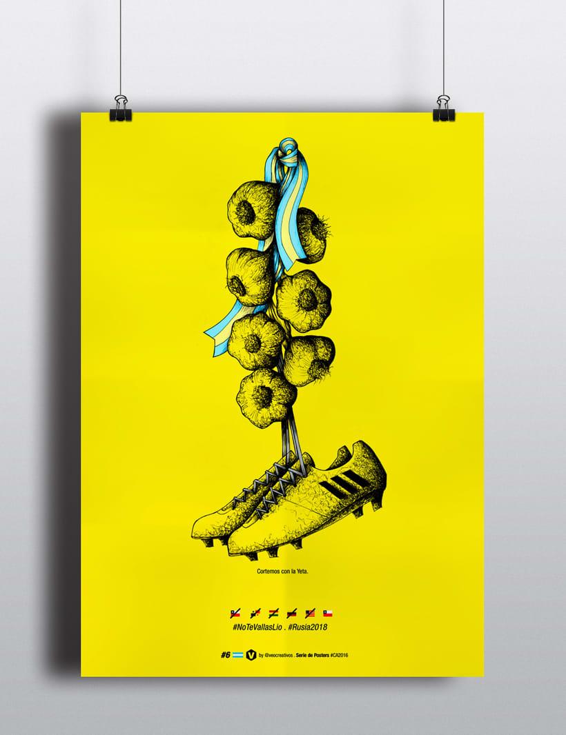 Serie de Posters Copa América 2016 5