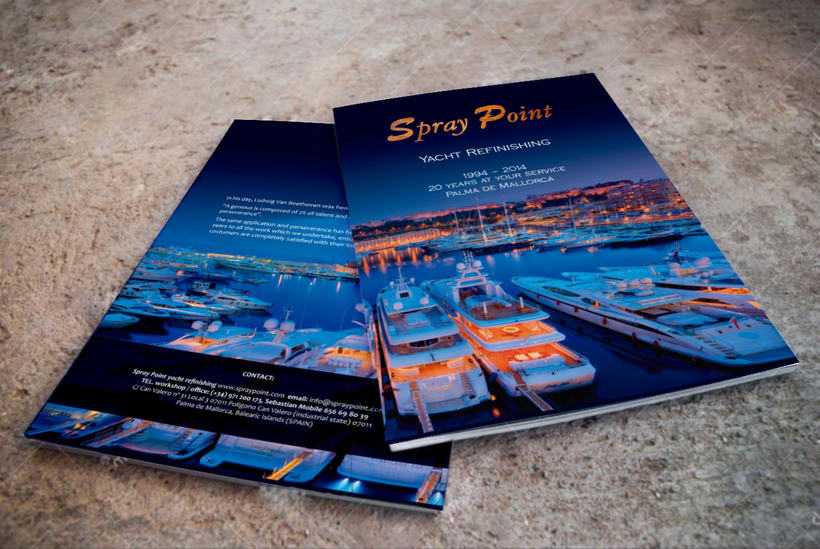 SPRAY POINT · CATALOG  0