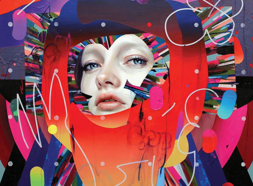 ERIK JONES. La psicodelia y el color convertidas en pintura 0