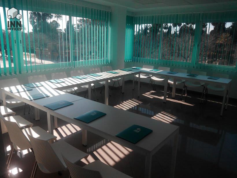 Salas de reunión o formación 3