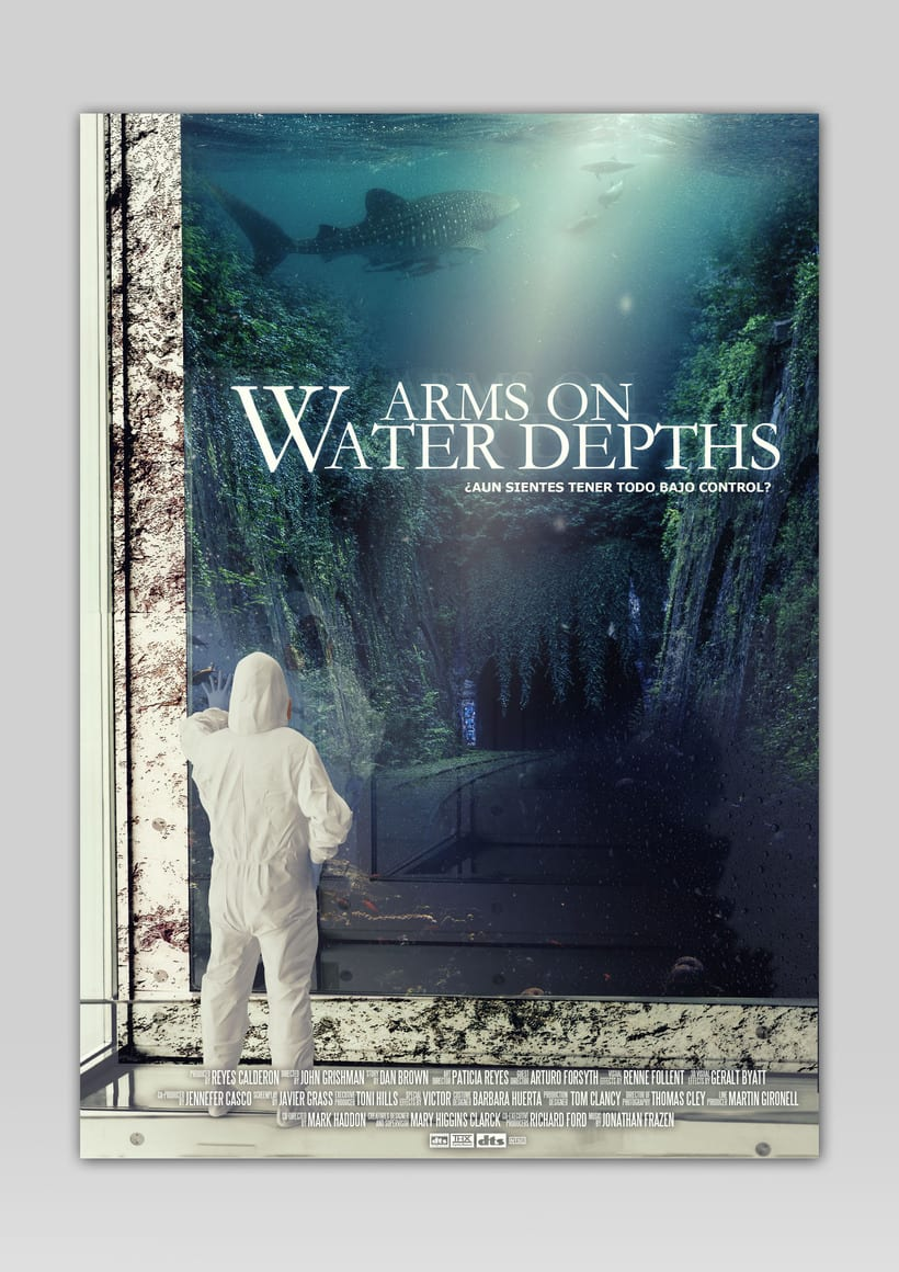 ARMS ON WATER DEPTHS · FILM POSTER PROJECT 0