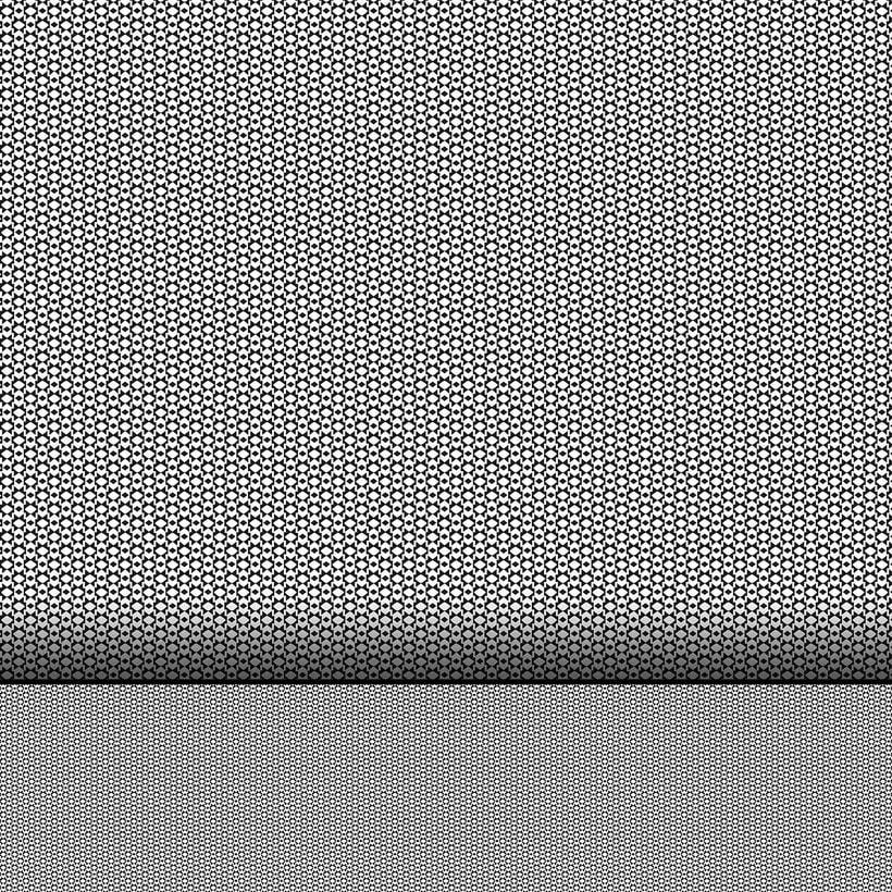 Geométrico Blanco y Negro -1