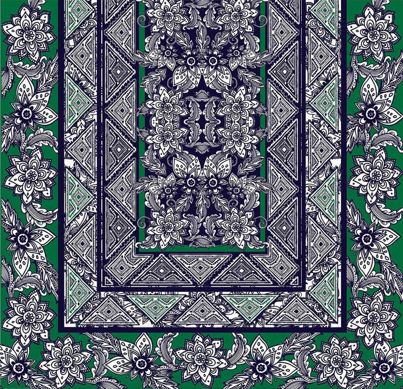 Pañuelo Flores 1