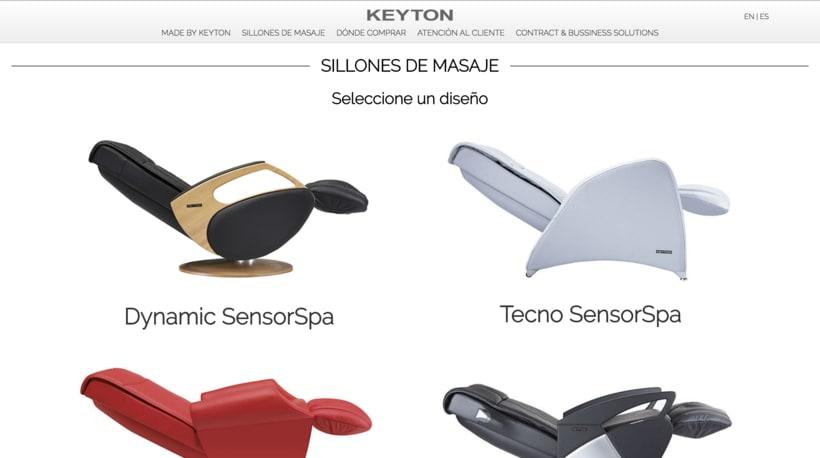 Desarrollo web Keyton 1