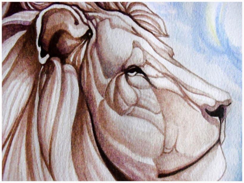 A la Sombra de un león -1