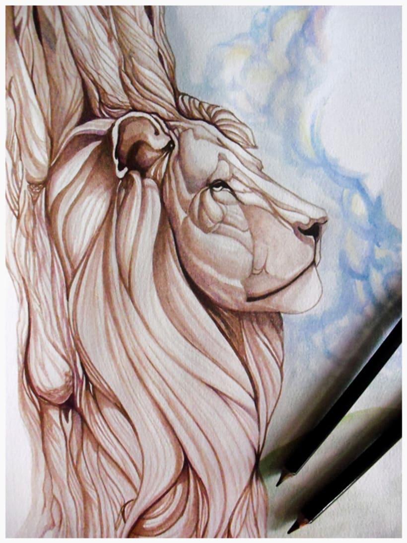 A la Sombra de un león 0