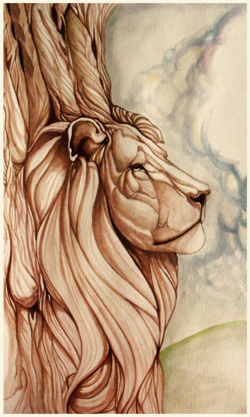 A la Sombra de un león 1