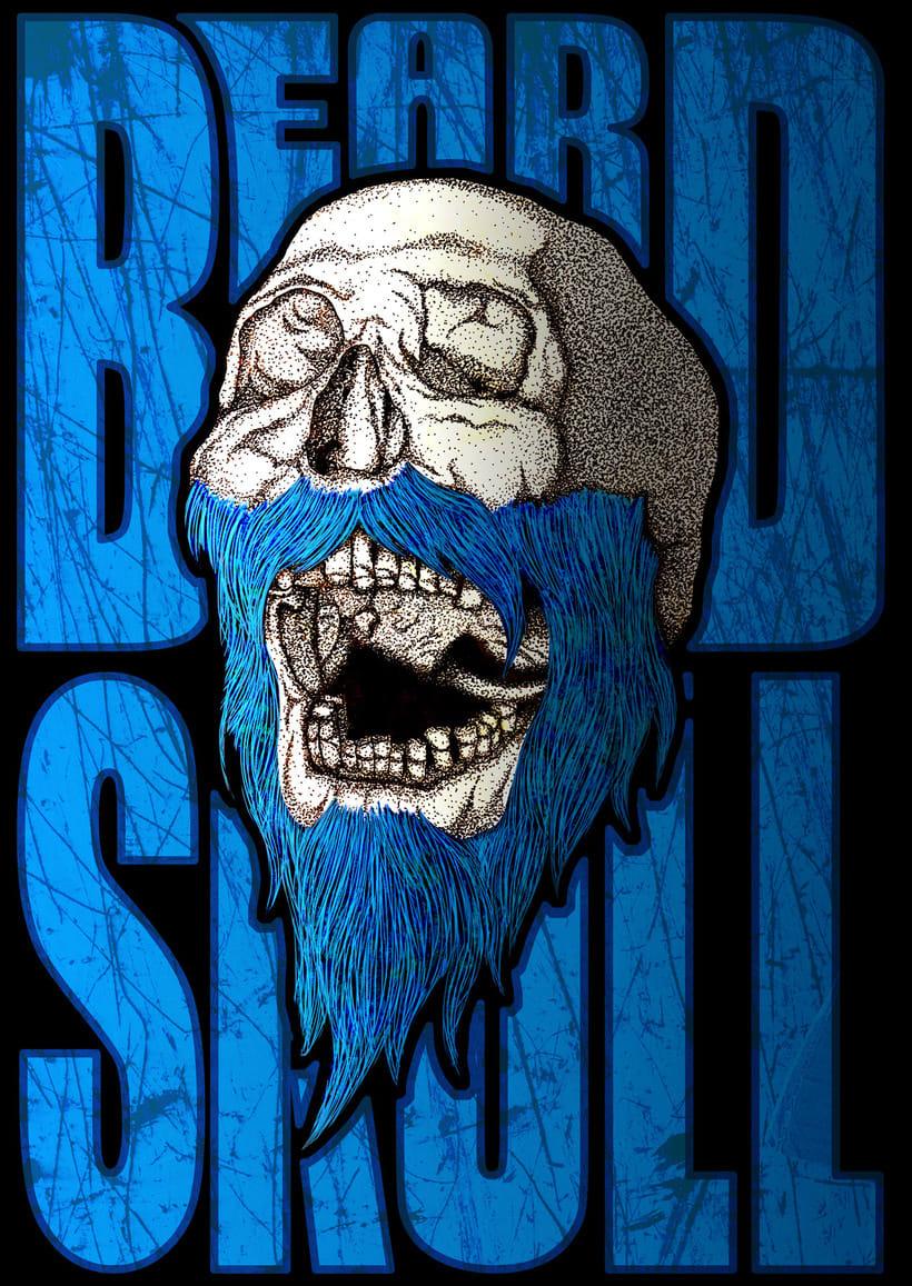 Beard Skull -1