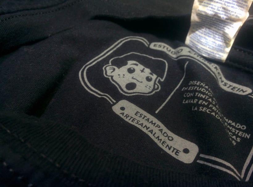 Diseño y estampa de camiseta para BOLU2DEATH 7