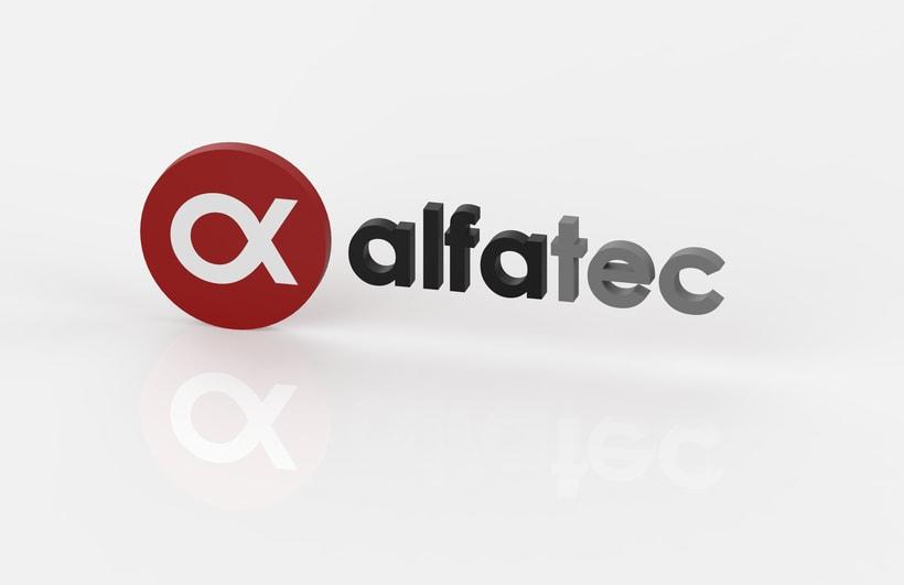 Identidad Corporativa en Alfatec Sistemas 0