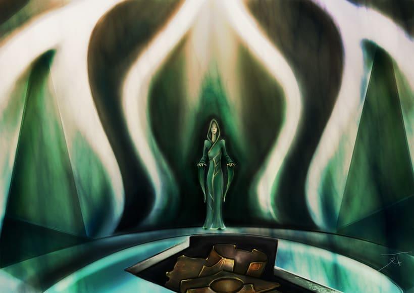 Dark Frontier - Ilustración Digital 4