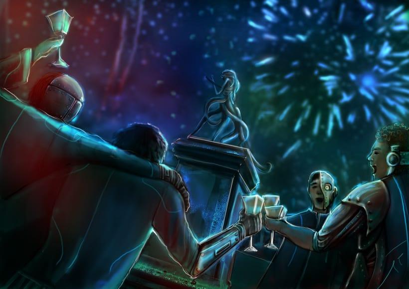Dark Frontier - Ilustración Digital 5