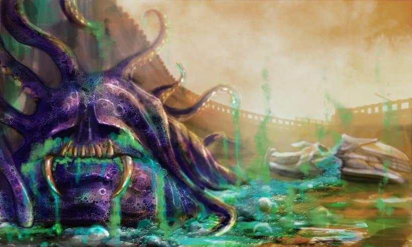 Dark Frontier - Ilustración Digital 10