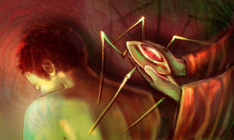 Dark Frontier - Ilustración Digital 12