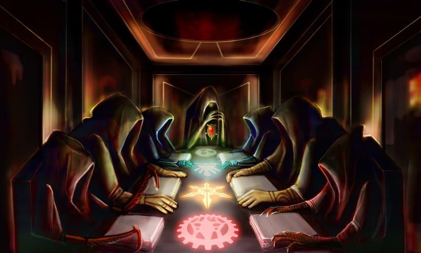 Dark Frontier - Ilustración Digital 13