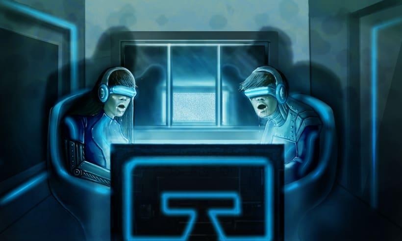 Dark Frontier - Ilustración Digital 14