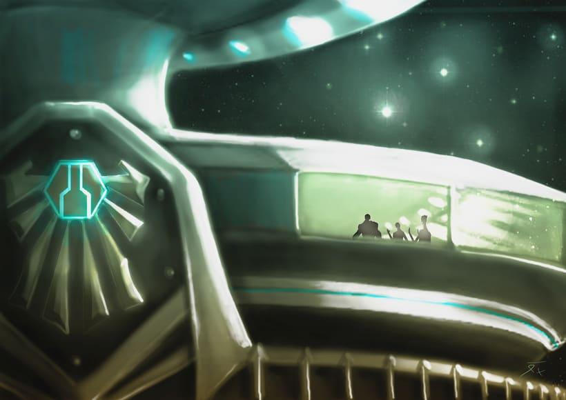Dark Frontier - Ilustración Digital 15