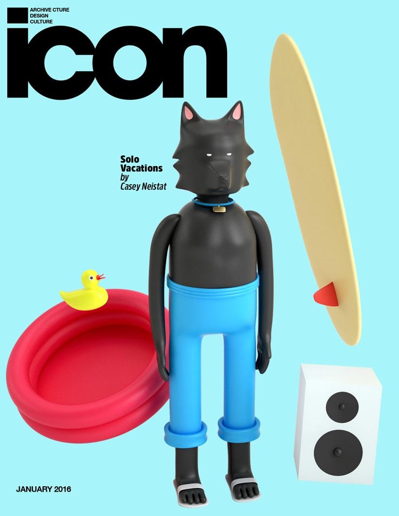 Mi Proyecto del curso: Diseño de personajes en Cinema 4D: del boceto a la impresión 3D -1