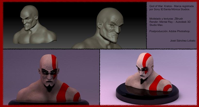 Kratos - God of War 2