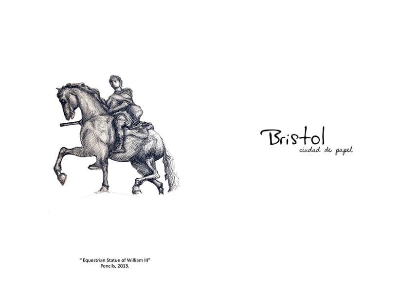 """ilustraciones: """"Bristol, Ciudad de papel"""" 7"""