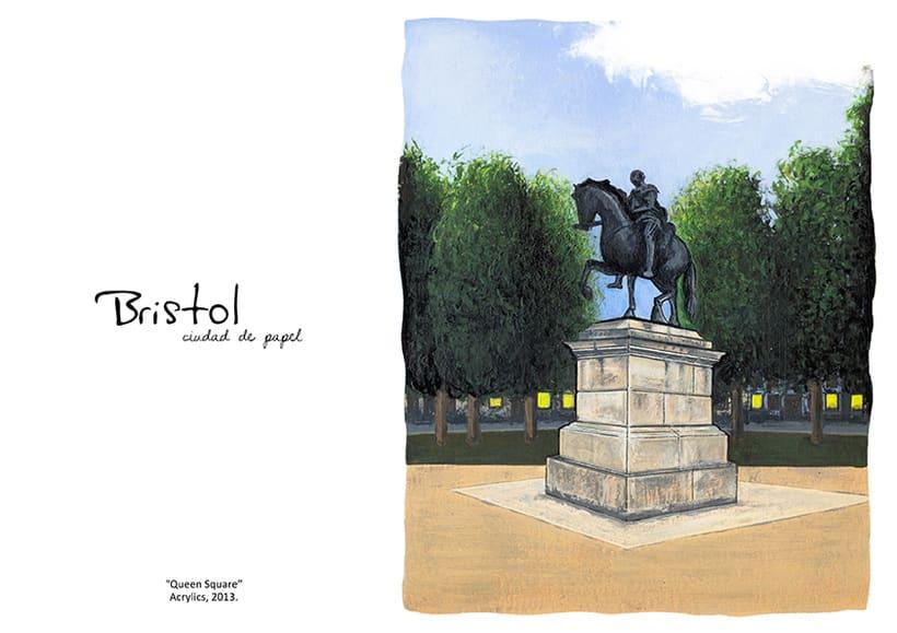 """ilustraciones: """"Bristol, Ciudad de papel"""" 10"""