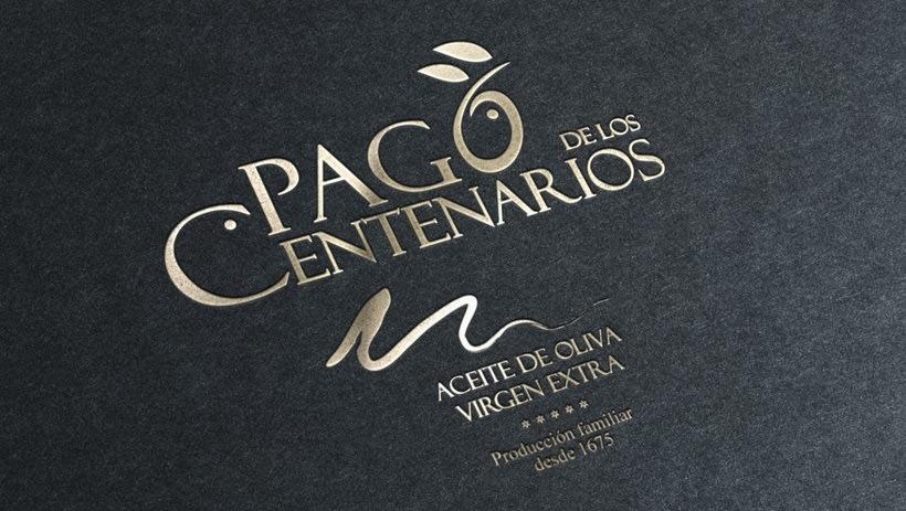 BRANDING Aceite de Oliva Virgen Extra Pago de los Centenarios 1