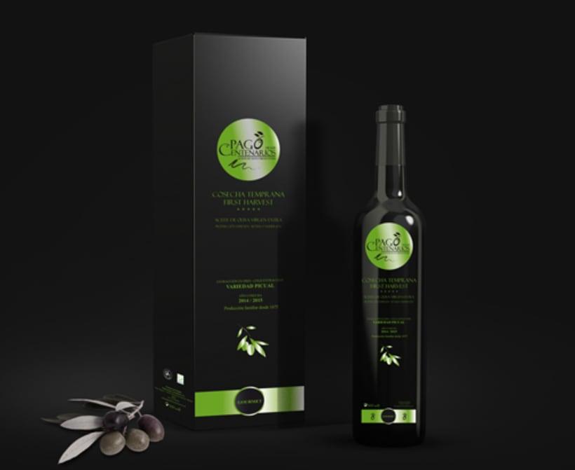 BRANDING Aceite de Oliva Virgen Extra Pago de los Centenarios 4