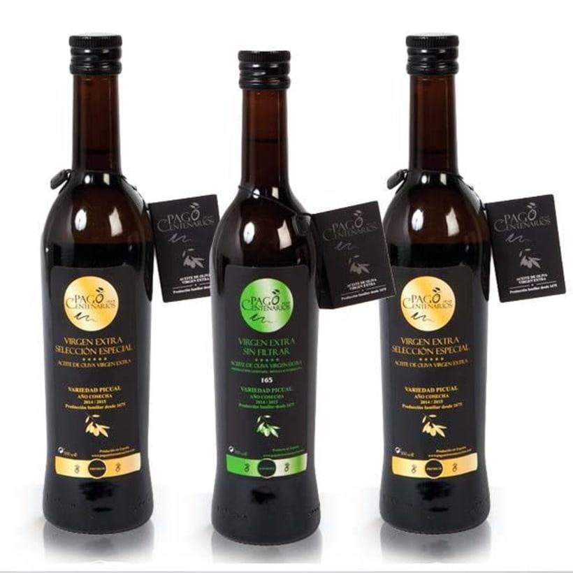 BRANDING Aceite de Oliva Virgen Extra Pago de los Centenarios 5