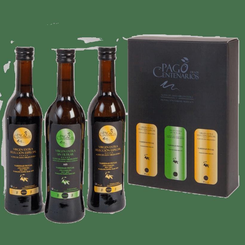 BRANDING Aceite de Oliva Virgen Extra Pago de los Centenarios 6
