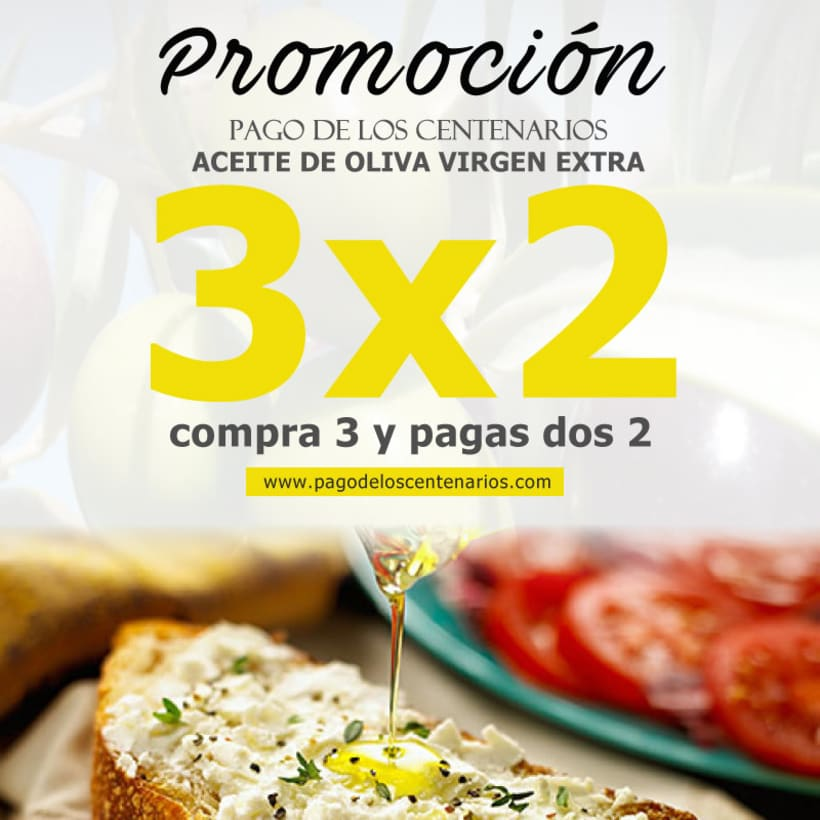 BRANDING Aceite de Oliva Virgen Extra Pago de los Centenarios 12