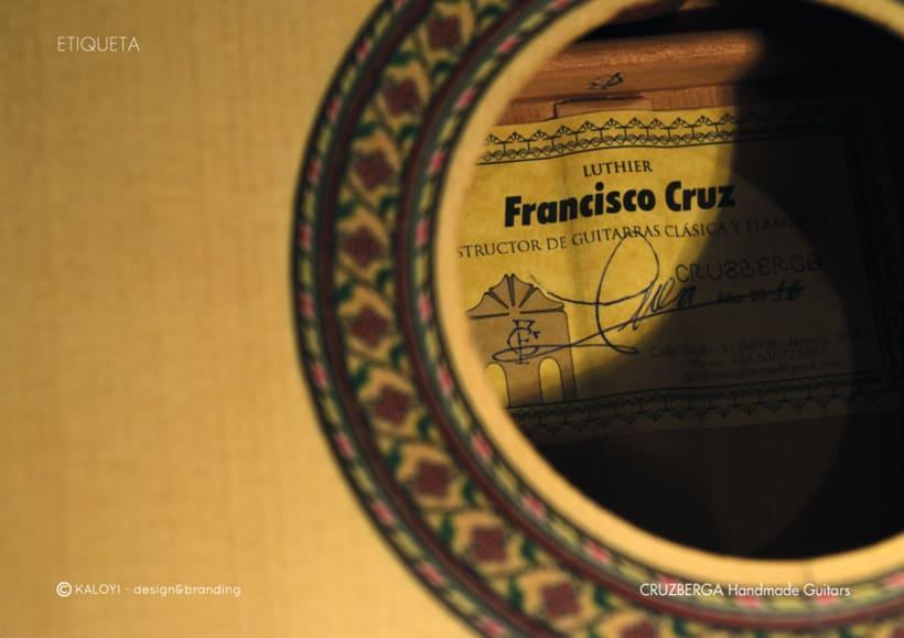 Identidad para CRUZBERGA Handmade Guitars 1