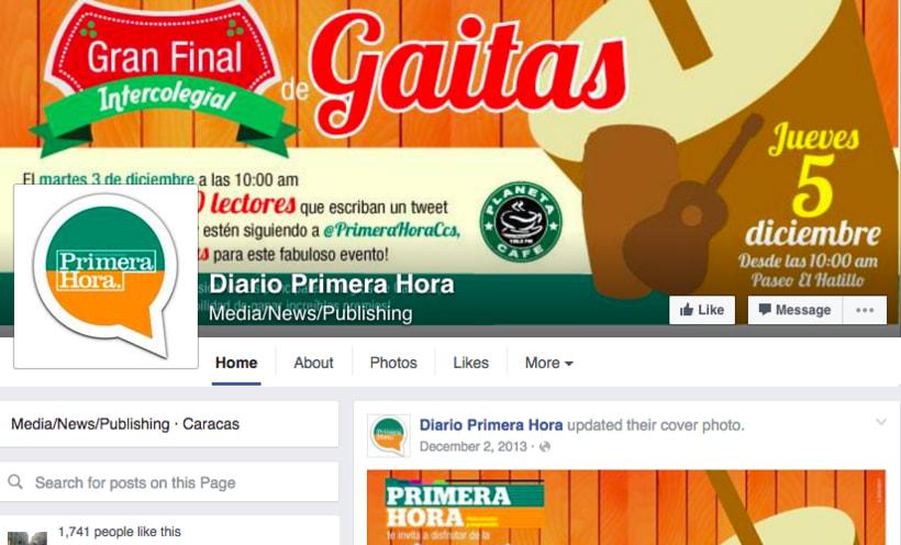 Social Media Coordinator para Diario El Nacional 5